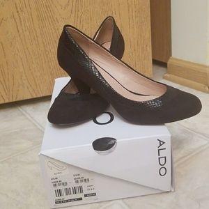 Aldo new black heels